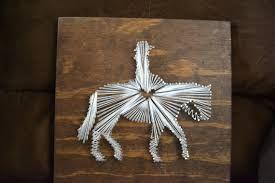 Resultado de imagem para horse string art