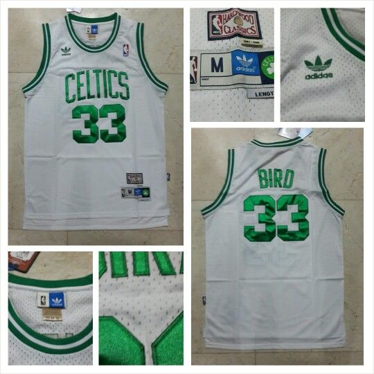 READY STOCK ! READY STOCK!!  JERSEY BASKETBALL NBA BOSTON CELTICS LARRY BIRD #33 size M SWINGMAN REVO30 FOR SALE  Interested?  Follow us @korionz  Contact us! BB 28BCBB04 LINE Leonardusmarvin Whatsapp +62-838-7033-0922