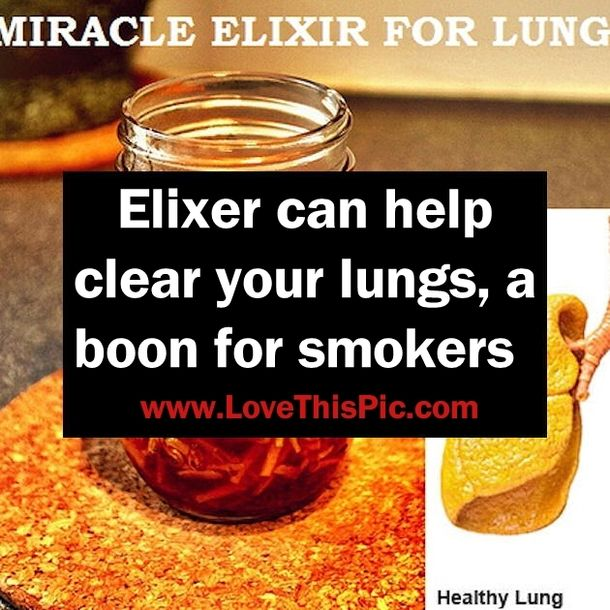 What Foods Or Drinks Help Clean Your Lungs