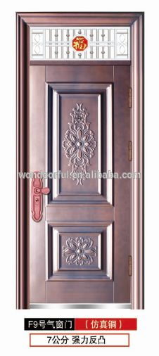 2017 low price modern iron gate door