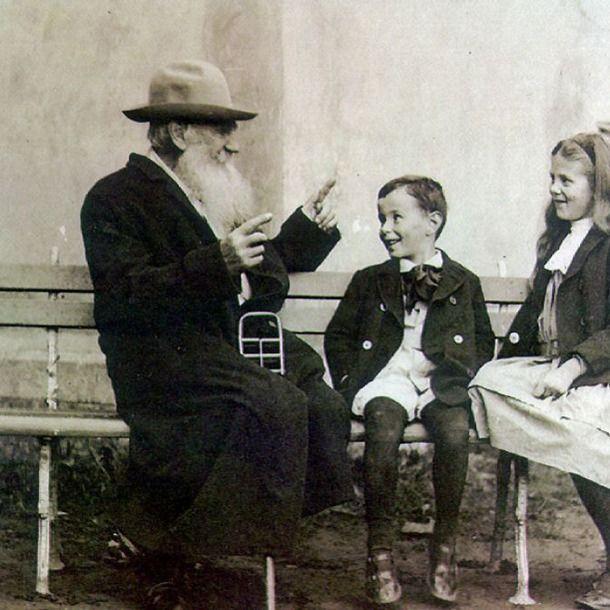 Лев Толстой: «К чему будут способности у ребенка, тому он научится, хотя бы жил в захолустье» — Полавкам