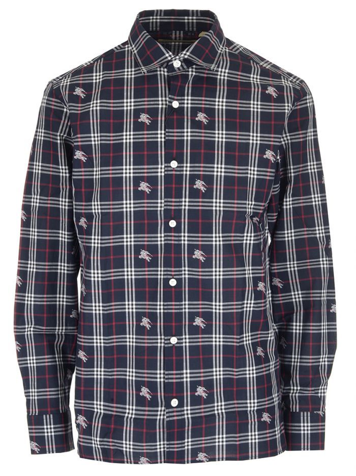 BURBERRY Blue and red check shirt.  burberry  cloth   Burberry in ... d342a06372d