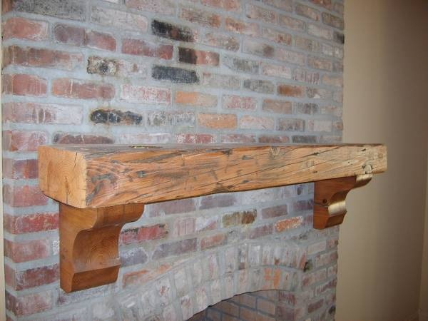 11 best cypress mantle images on Pinterest | Fireplace ideas, Wood ...