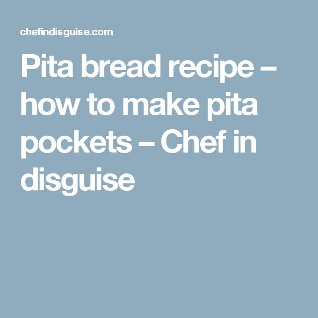 how to make pita pockets open