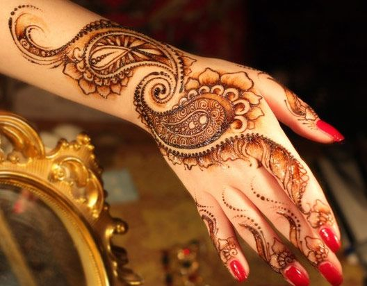 Stylish Mehandi Image for Hand Henna Pattern Style for Girls