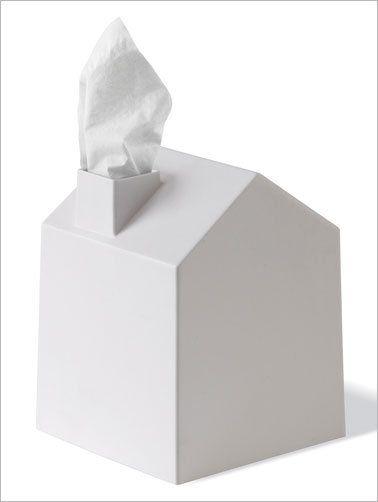 Umbra Kosmetiktuchbox, weiß - Geschenkeshop | Deko-Geschenke | Accessoires fürs Wohnen - Cedon