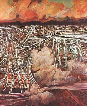 Metropolitan Landscape by Robert Ellis