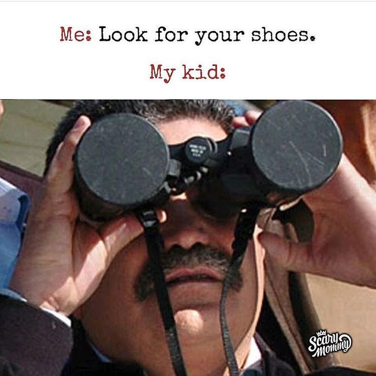 Omg you're literally looking at them rn. #momlife #parentingproblems via Scary Mommy 2