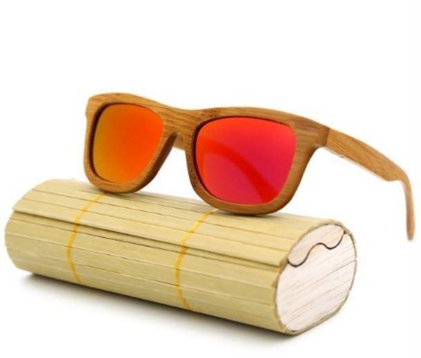 Stylové unisex dřevěné sluneční brýle dekor dřeva s červeným sklem Na tento produkt se vztahuje nejen zajímavá sleva, ale také poštovné zdarma! Využij této výhodné nabídky a ušetři na poštovném, stejně jako to udělalo již …
