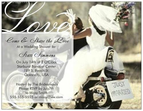 Biker Wedding Invitations: 21 Best Wedding Invites Images On Pinterest