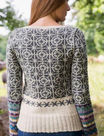 Love this <3 https://woolspire.com/shop/da/kits/rings-roses-monstersweater-328-09-dale-garn-kit