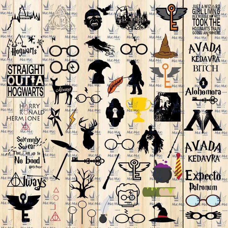 Harry Potter Svg, Harry Potter Movies, Hogwarts House Logo