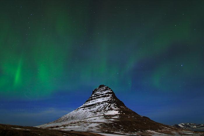 Polární záře na Islandu