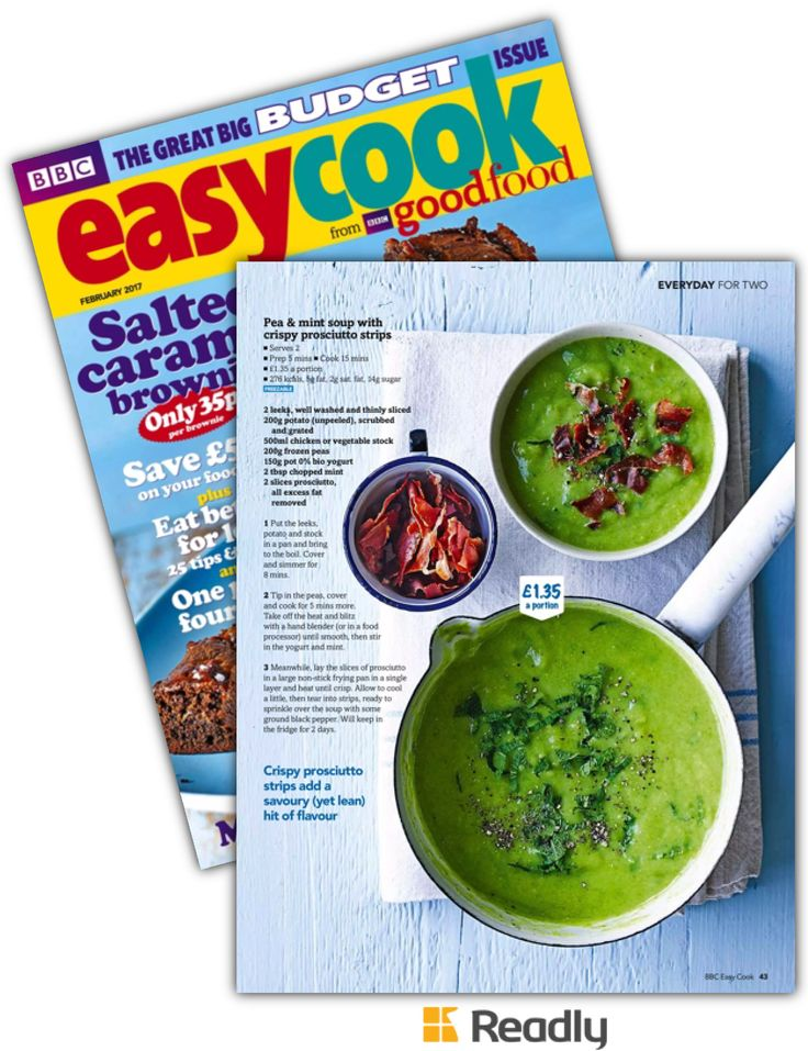 Suggestion about BBC Easy Cook Issue 99 page 43