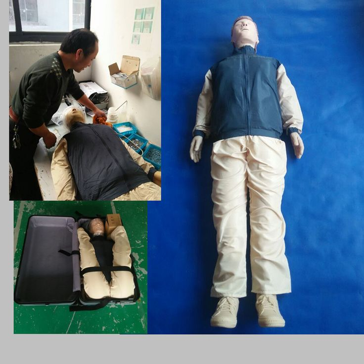 BIX-CPR480Advanced Automatic Computer Cardiopulmonary Resuscitation CPR Manikin Model WBW077