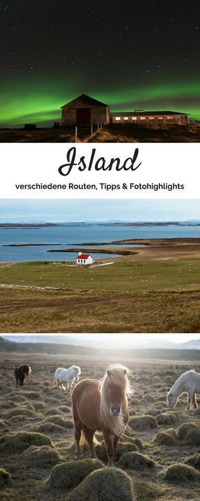 Everything worth knowing for your round trip or road trip through Iceland repinned f E … – Never tell me