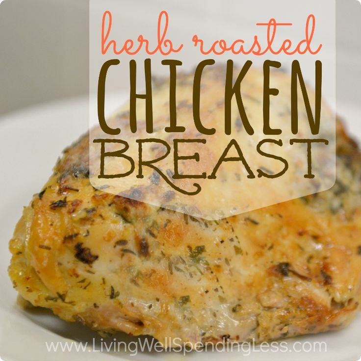 preheat oven to 450°, preheat oven-safe pan, then rub chicken breast with olive oil, salt, pepper & any additional seasonings you like… I added mrs. dash & blended the spices together before rubbing them in. put chicken breast-side down in dry pan for 3 min, flip & throw it into the oven for 15 min. let rest, slice & enjoy!!