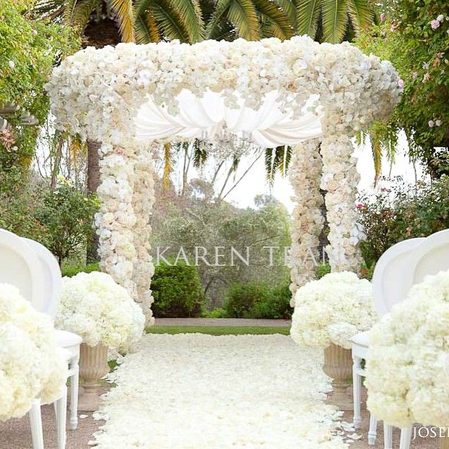 Welcome to my garden... Ceremony at the Rose Garden | Karen Tran Event #karentran