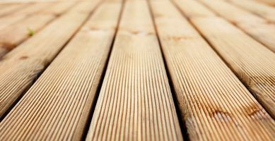 Composite decking materials often look fake when compared to natural wood.