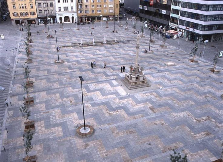 RAW, Rekonstrukce Masarykova náměstí, Ostrava, 2007