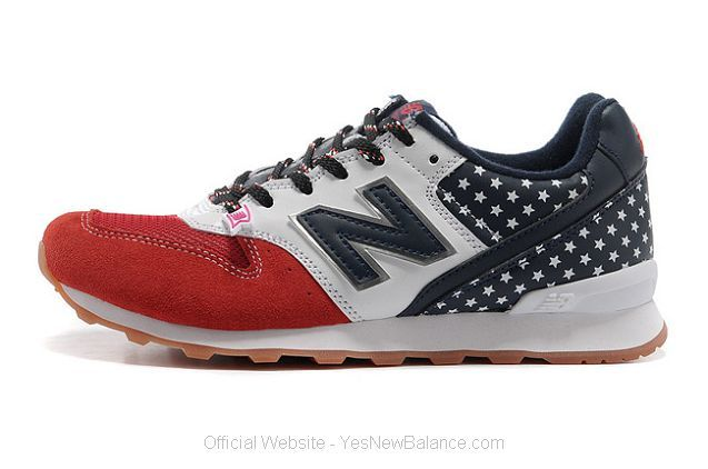 Women's New Balance WR996NV American Flag Running Shoes