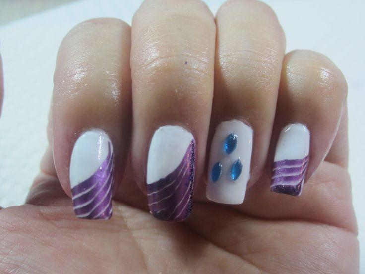 Mejores 32 imágenes de my little pony nails en Pinterest   Belleza ...