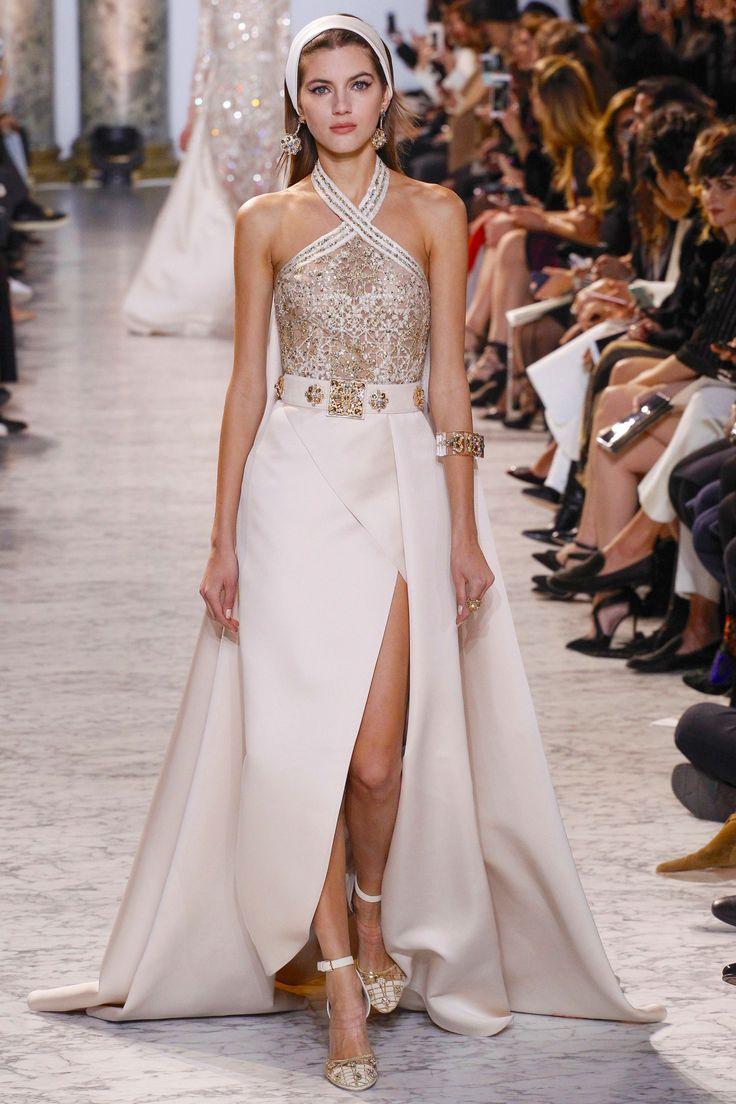 Elegancia — Elie Saab Spring 2017 Haute Couture | vestits ...