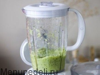 Зеленый смузи - рецепт с пошаговыми фото / Меню недели