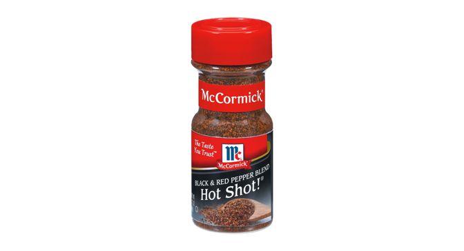 Hot Shot! A blend of black pepper and red pepper.