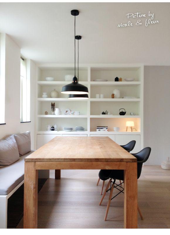 Inbouwkast op maat met luxe uitstraling | Interieur design by nicole & fleur
