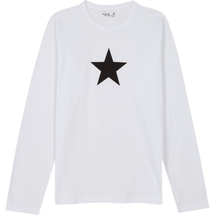 t-shirt étoile blanc