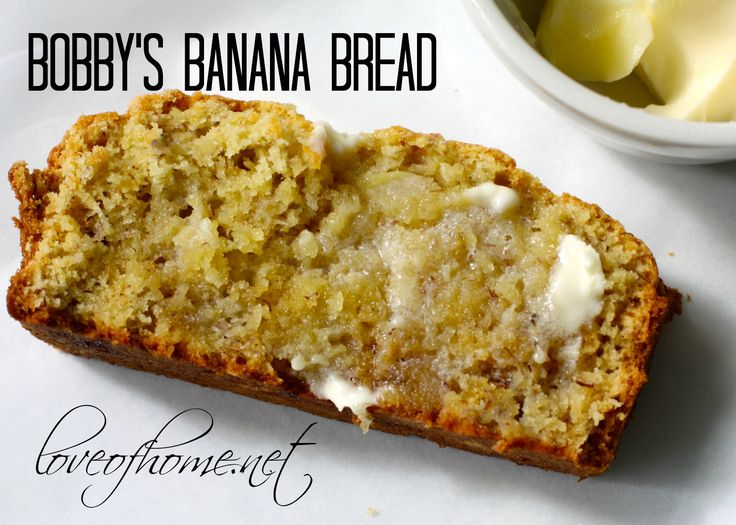 Bobby Flay's Banana Bread | Love of Home