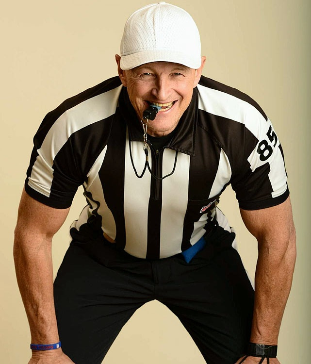 Ed Hochuli NFL... Cindy, this is for you... :)