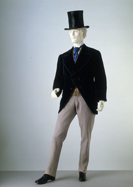 1870-1880 Wool Trousers.(Victoria and Albert Museum)