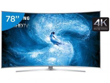 """Smart TV Nano Cristal 3D Curva 78"""" Samsung - UN78JS9500GX  Ultra HD 4K 4 HDMI 3 USB Wi-Fi Inovação! Esta é a palavra que melhor define esta linda TV Samsung. https://www.magazinevoce.com.br/magazinevipchic/p/smart-tv-nano-cristal-3d-curva-78-samsung-un78js9500gx-ultra-hd-4k-4-hdmi-3-usb-wi-fi/134745/ em até 12x de R$ 2.749,92 sem juros no cartão de crédito  ou R$ 31.349,05 à vista !! #NatalénaVIPCHIC"""