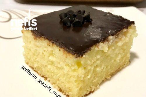 Çikolatalı Muzlu Islak Kek (Pasta Tadında) Tarifi