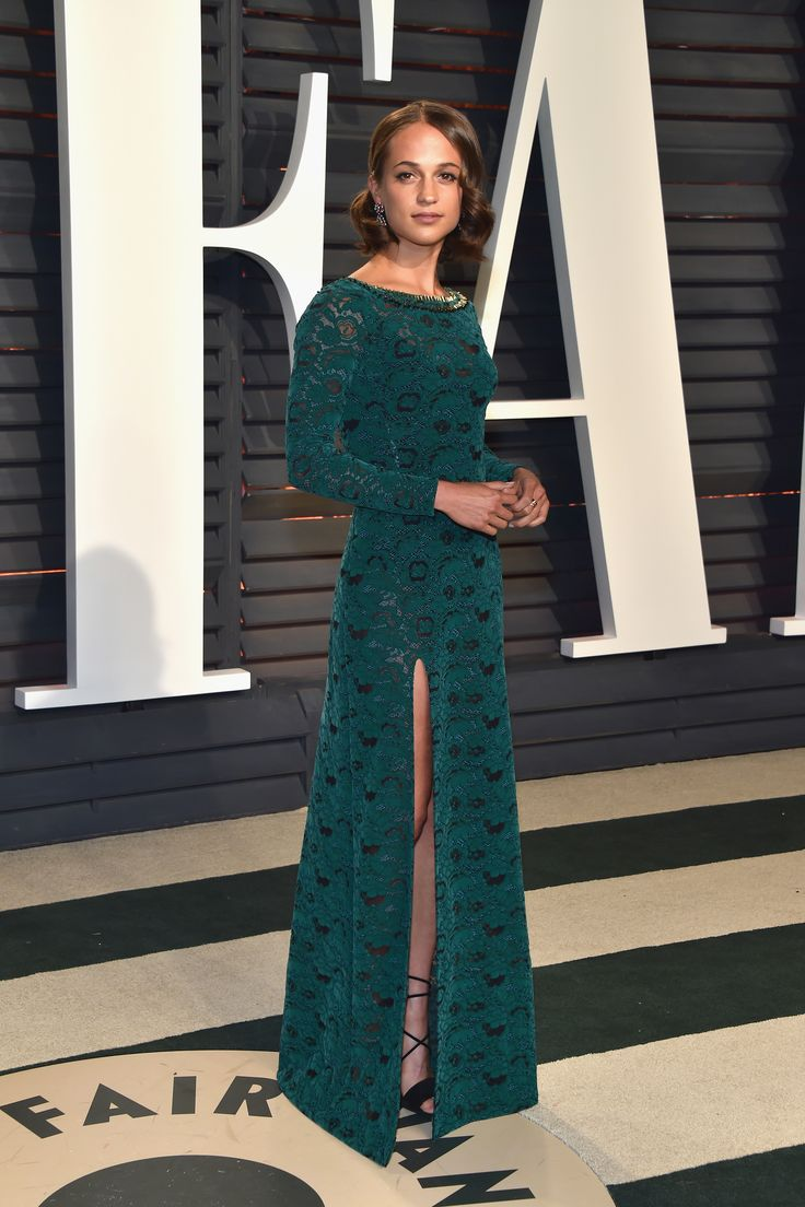 Alicia Vikander in Louis Vuitton - 2017 Vanity Fair Oscars after party