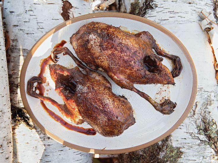 syrup wine roast duck