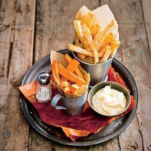 Recept - Frites van koolraap en knolselderij - Allerhande