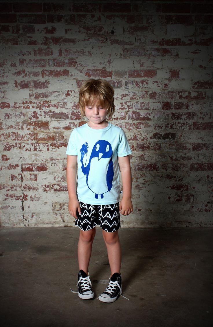 Minti Penguin Tee http://www.rockies.co.nz/estore/style/mntm320bs14pe.aspx