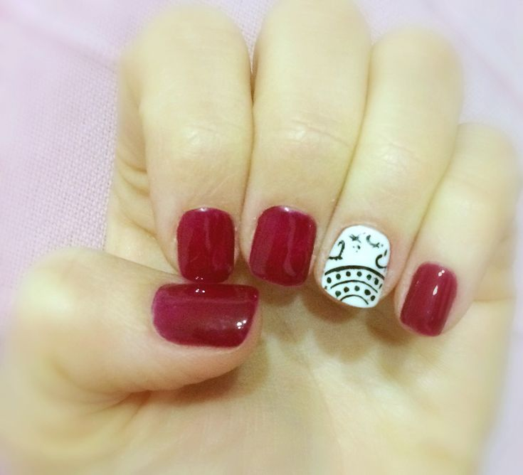Red nails uñas rojas decoración uñas manicura permanente