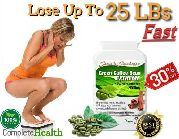 GREEN COFFEE BEANS Weight Loss Tablets-Diet Pills-Weight Loss Slimming Pills Now