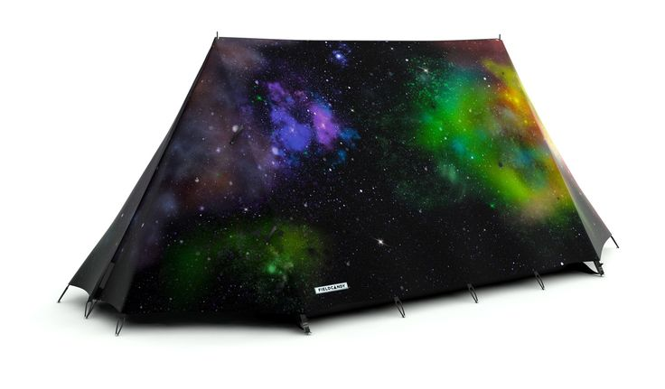 Spacious Galaxy Space Camping Tent Flysheet - Spacious Flysheet - FieldCandy