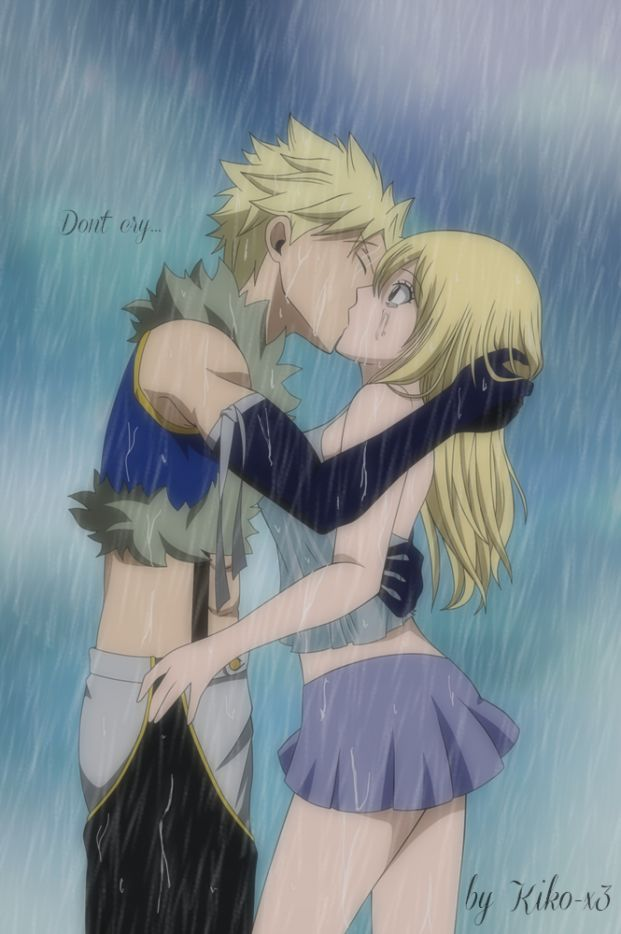 Sting x Lucy... I must admit, they look cute together... But I'm a Nalu shipper for LIFE!