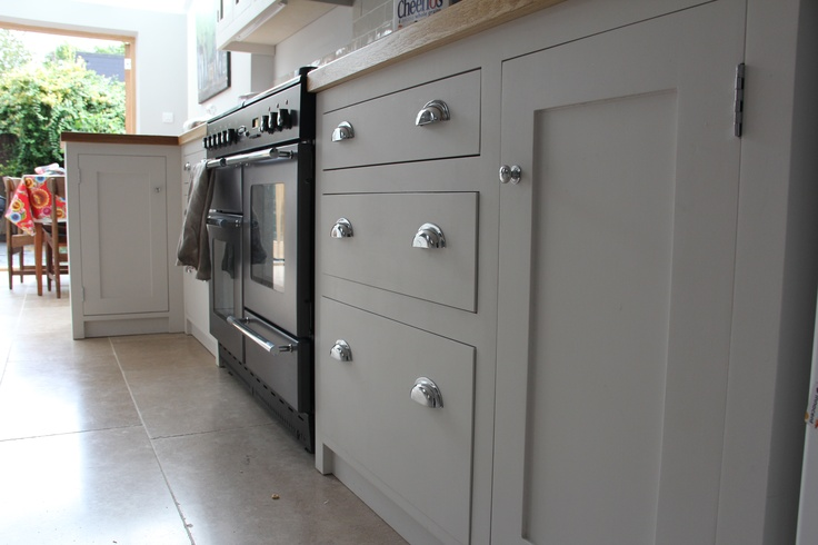 I asked for drawers to be different depths for obvious for Shaker kitchen cabinet door handles