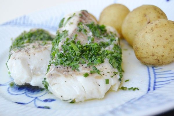 Ljuvligmat.se - en mat- och bakblogg - Grillad torskrygg med färska örter