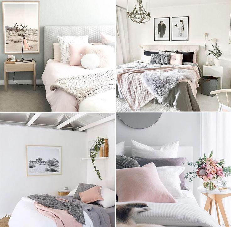 25+ melhores ideias sobre Paleta de cores cinza no  ~ Quartos Em Branco E Cinza