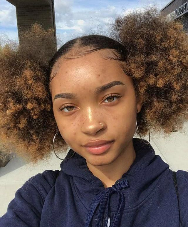 Natural Hairstyles After Blow Drying Naturalhairstyles Hair Puff Natural Hair Styles Easy Afro Puff Hairstyles