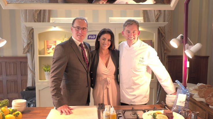 The fab @SoSueMe_ie spends some quality time with @LoughErneResort Manager Willan & @NoelMcMeel