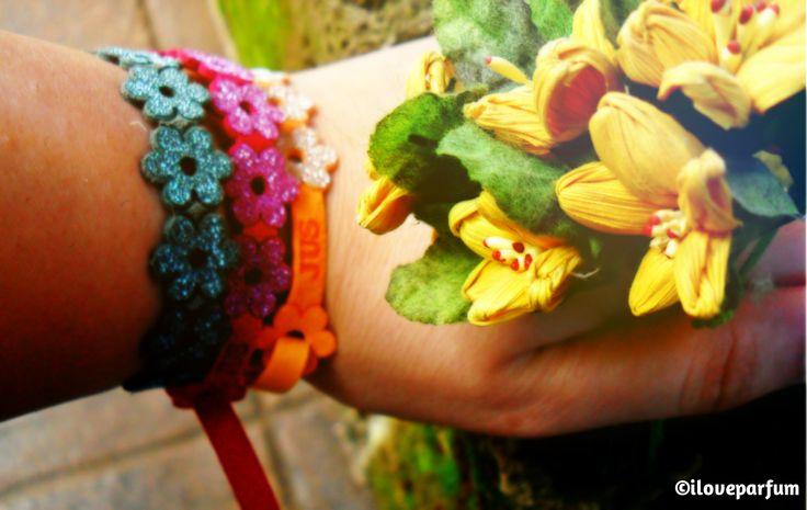 #Jus :un #fiore sempre con #te !  #Bracciali #Braccialet #outfit #handmade #iloveparfum #parfumblog http://iloveparfum.altervista.org/jus/